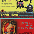 Médiathèque de roanne du 9/12/2008 au 23/01/2009