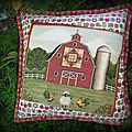 Barn cushion