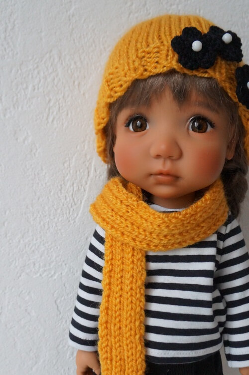 Rose petite fille modèle ! ( Bjd de Meadowdolls )