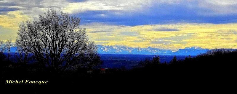 1406) vue au sommet crêtes bel air