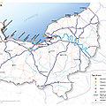 La normandie, contrairement à l'etat central, veut et propose une politique maritime et portuaire
