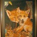 La renarde et son petit