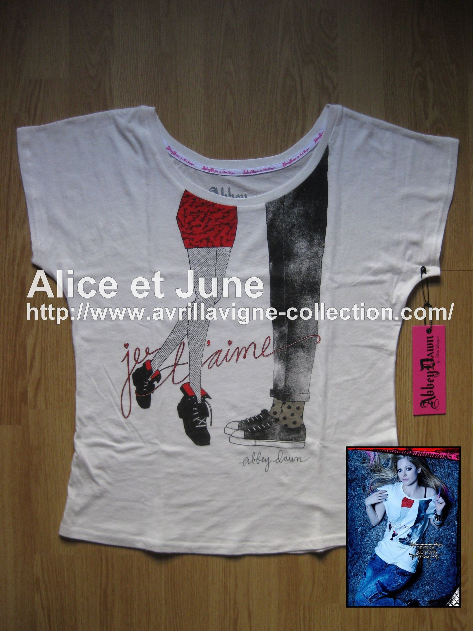 Abbey Dawn Je t'aime Rocker Tee