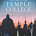Les secrets de temple college, de cathryn constable