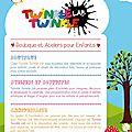 Flyer pour twinkle twinkle lab