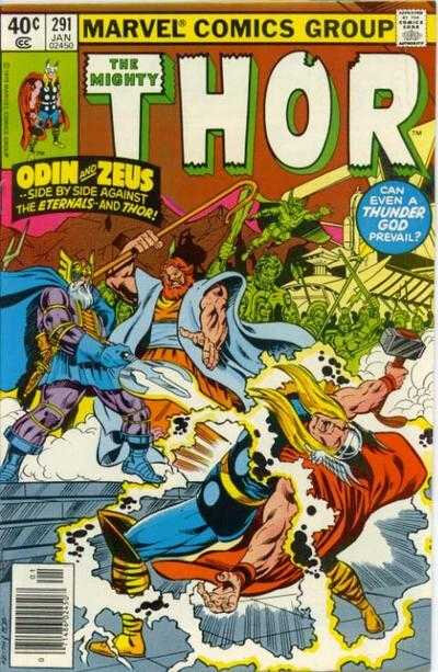 mighty thor 1966 291