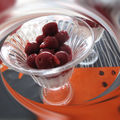 Coupe cerises fromage blanc