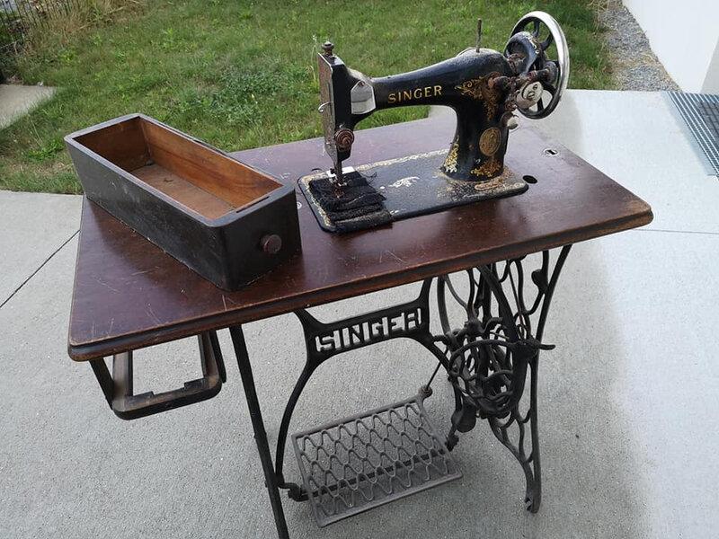 machine sur table