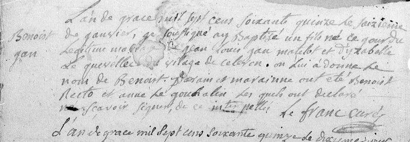 1775 N Benoit JEAN