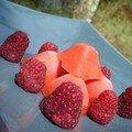Glace fraise sans sorbetière