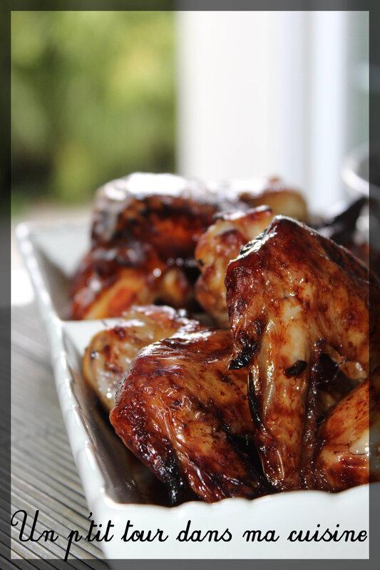Ailes poulet laquées2