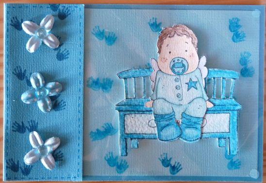 bébé turquoise