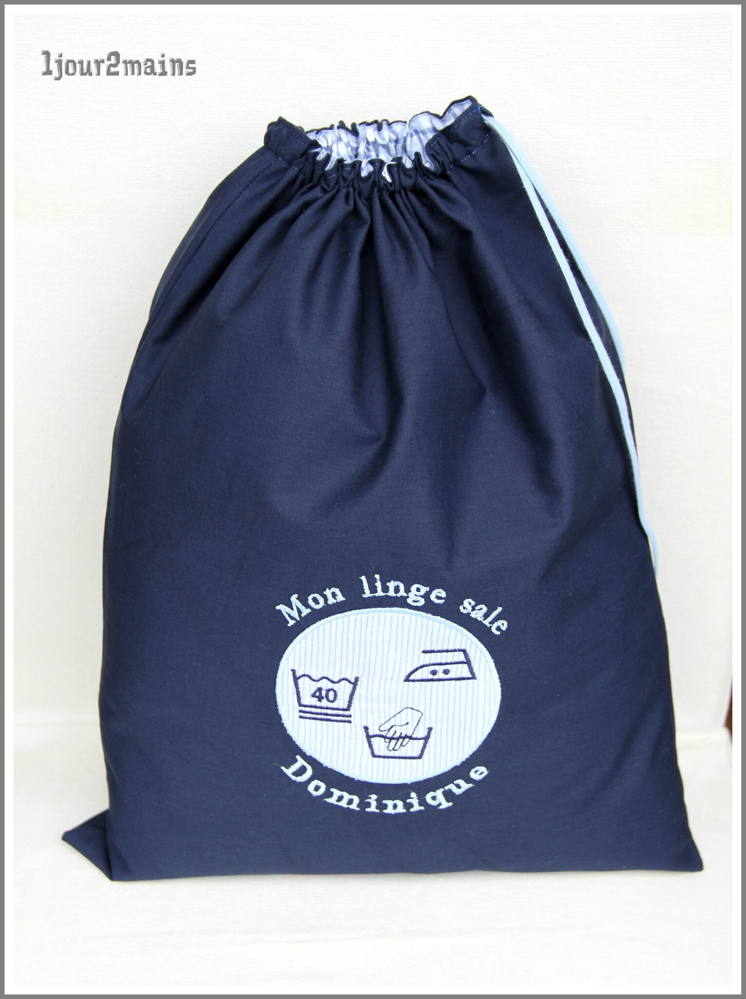 sac linge dominique
