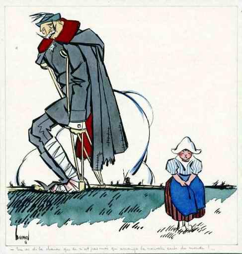 Abdicayion du Kaiser 9 nov 1918