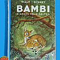 Livre collection ... bambi de walt disney (1951)
