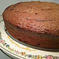 Gâteau marbré au yaourt et aux pommes caramélisées