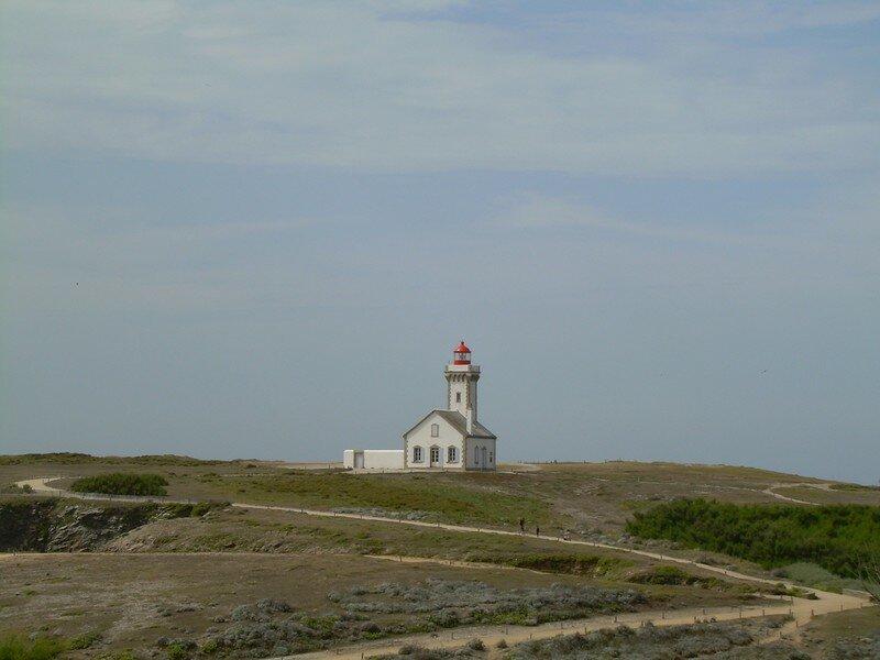 Le phare de la Pointe des Poulains