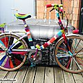 Customisation de velo en yarn bombing ou l' urban knitting bike ep. 12 + clip bikingstrasbourg