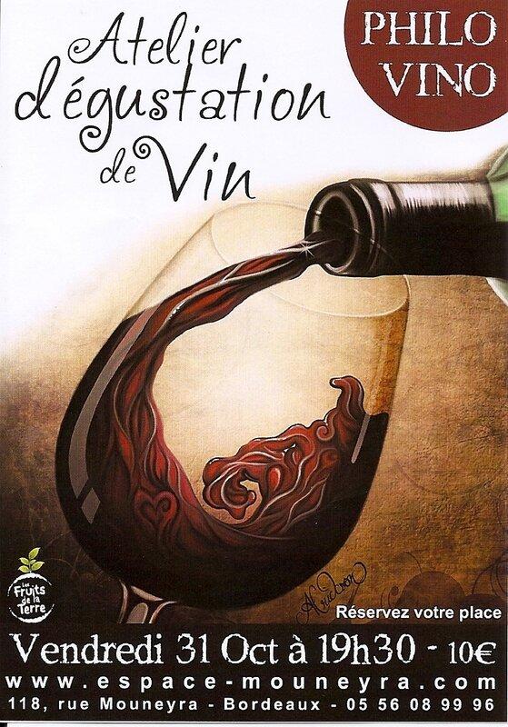 Les vibrations du vin - Espace Mouneyra-