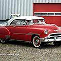 Chevrolet Bel-air styleline 2 portes de 1951 (Dachstein) 01