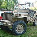 Hotchkiss jeep m201 voiture de liaison 1/4 de tonne 1957