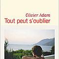 Tout peut s'oublier - olivier adam