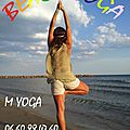 Beach yoga et paddle yoga ete 2015