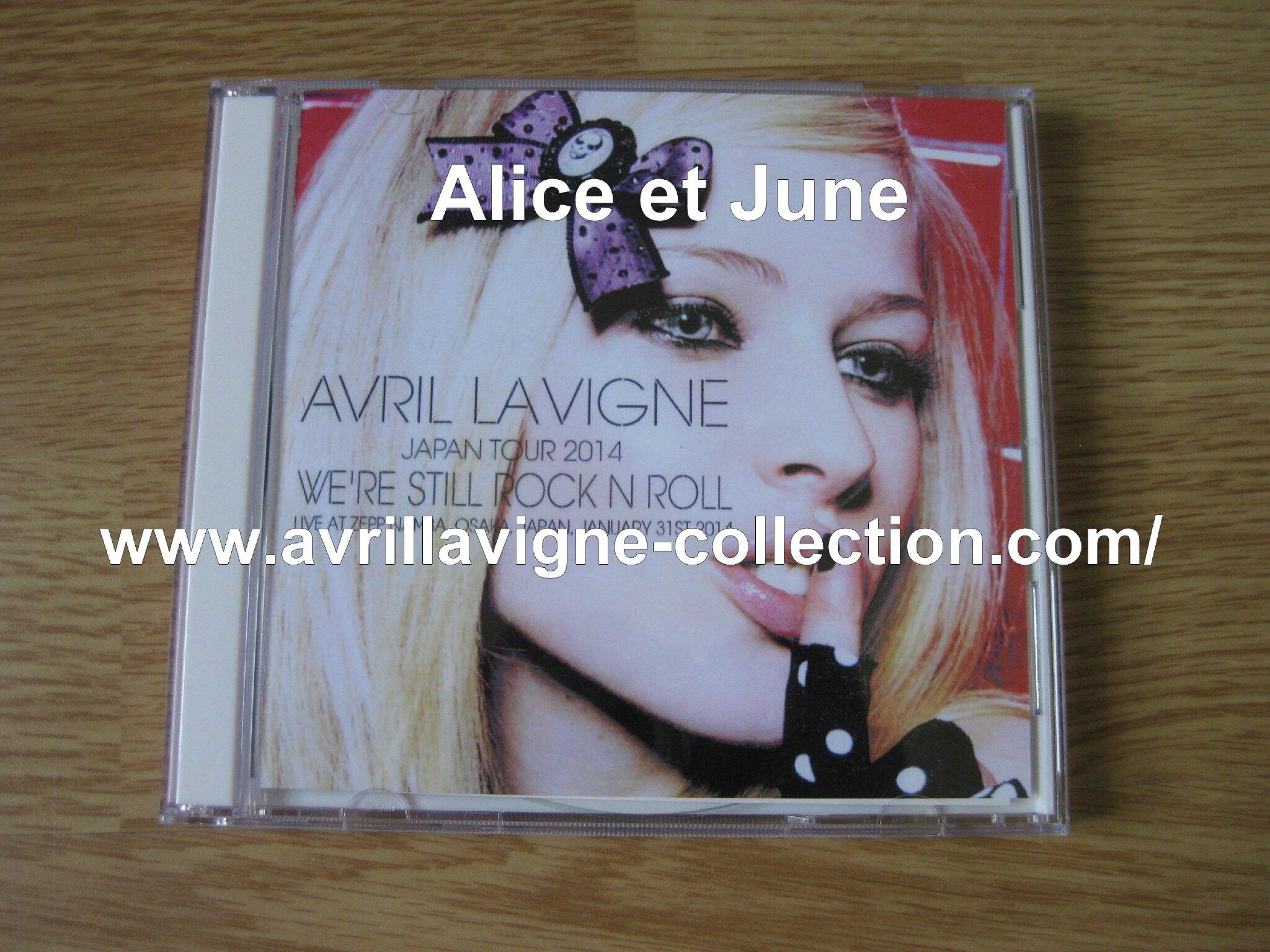 CD Avril Lavigne We're Still Rock N Roll-Japon (2014)