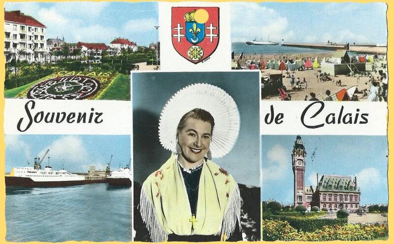 CPSM Calais Souvenir