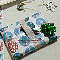 Paquet Cadeau création marimerveille