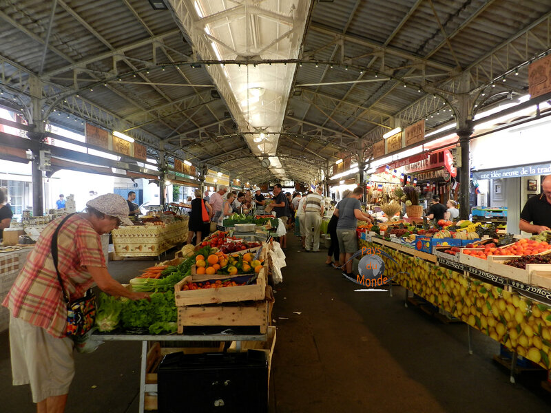 Le marché d'Antibes
