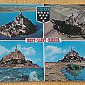 Mont St Michel 1 datée 1977