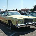 MERCURY Grand Marquis 4door pillared hardtop 1978 Sinsheim (1)