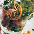 Salade de mâche aux langoustines