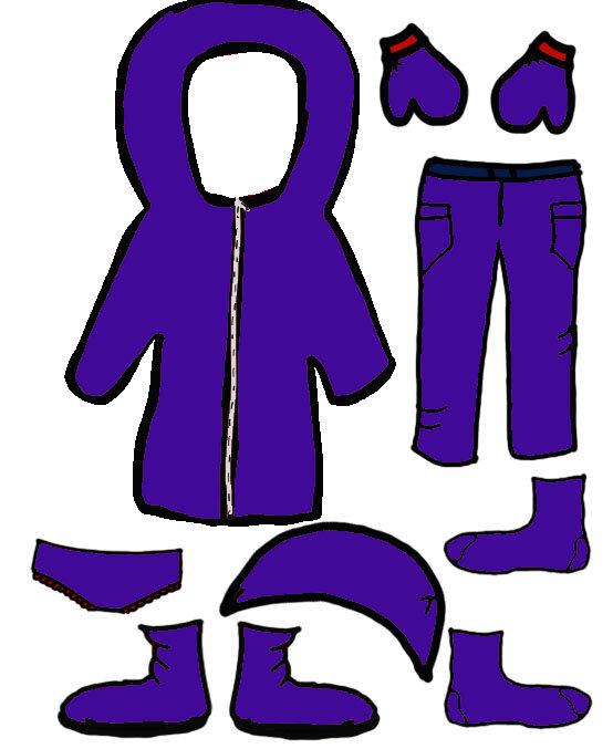 vêtement filles 3violet