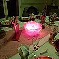 TABLE : NOEL - LES RENNES