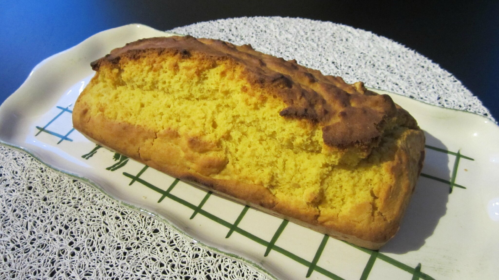 Pain de mais ou corn bread