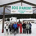 DB. Week-end raquettes Bois d'Amont