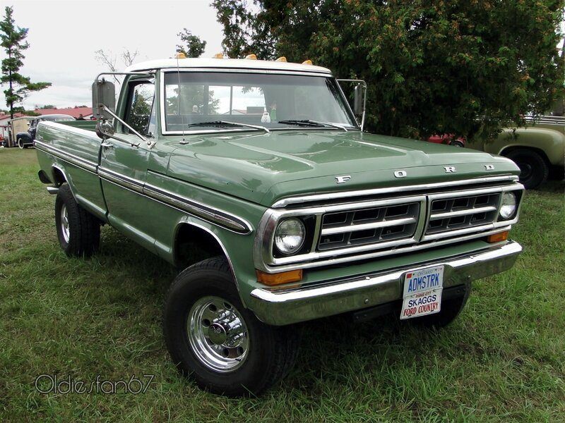 "Classic Chevrolet Beaumont >> Ford F-100 Ranger-1971 - Oldiesfan67 ""Mon blog auto"""