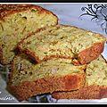 Cake au poireau, thon, curry et farine de maïs...