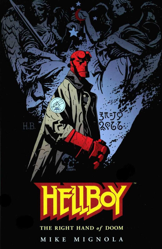 dark horse hellboy the right hand of doom TPB
