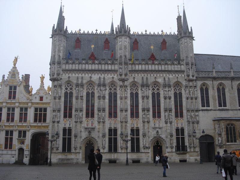 En me promenant dans Bruges