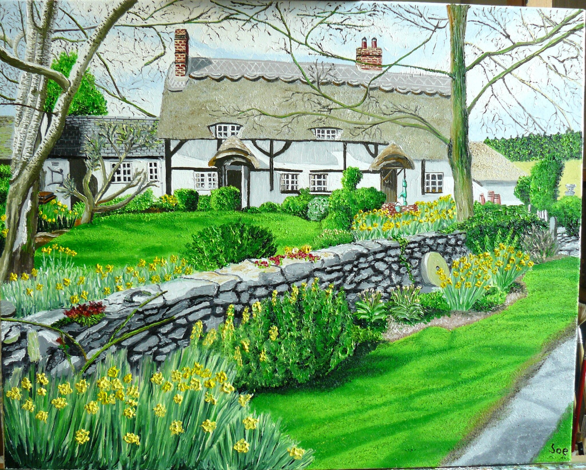 An English Thatched House