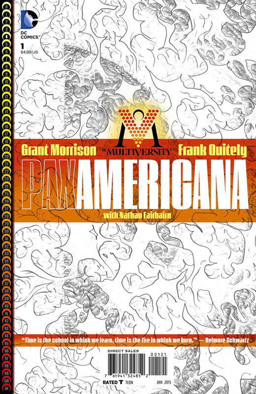 the multiversity pax americana variant