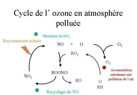 pollution a l'Ozone le mensonge Royal