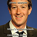 Mark Elliot Zuckerberg informaticien, patron, Facebook,usurpé