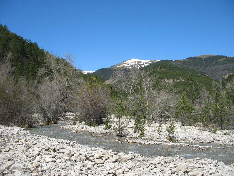 Larrosa, rivière Barranco de Acin (Espagne)