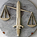 S'acquitter d'une affaire de justice