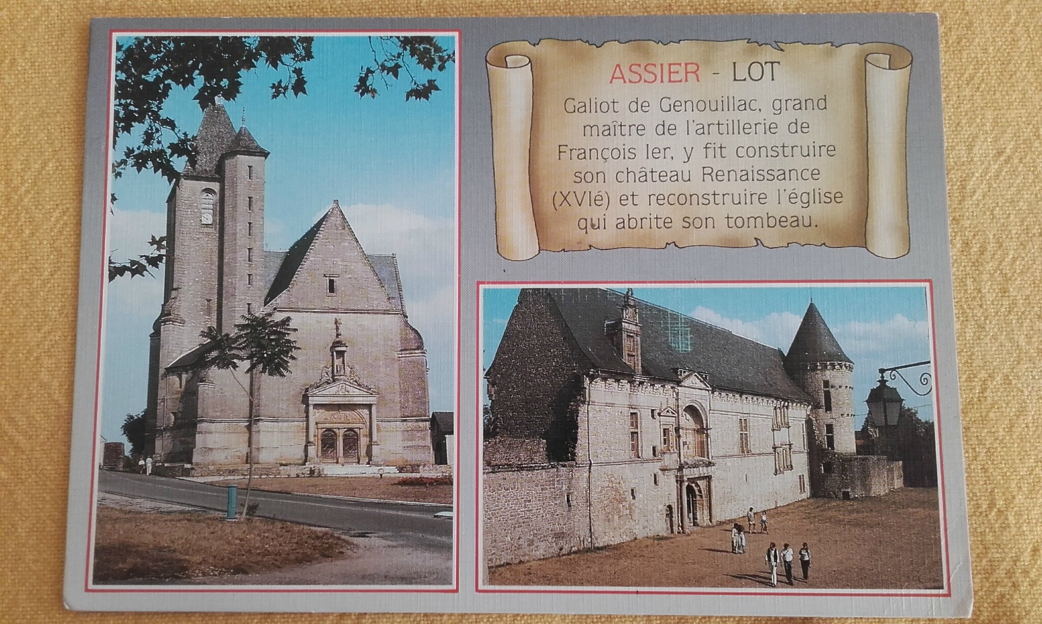 Assier datée 1992