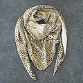 Mes nouveaux foulards pour le printemps...